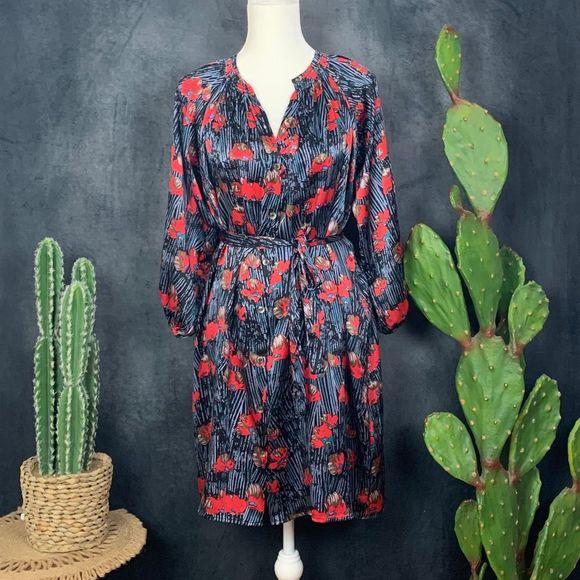 Tucker Dresses & Skirts - Tucker The Classic Silk Knee Length Dress M
